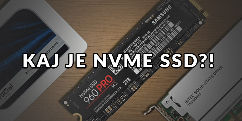 Kaj je NVME SSD?