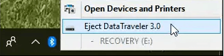 Varno odstranjevanje USB naprave